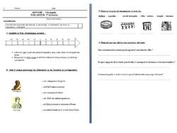 Evaluations 1er trimestre CE2 et CM1