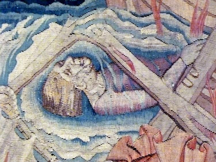 Le naufrage (détail)