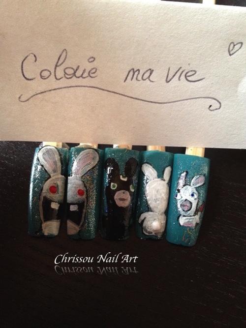 """Concours """"lapins crétins"""""""