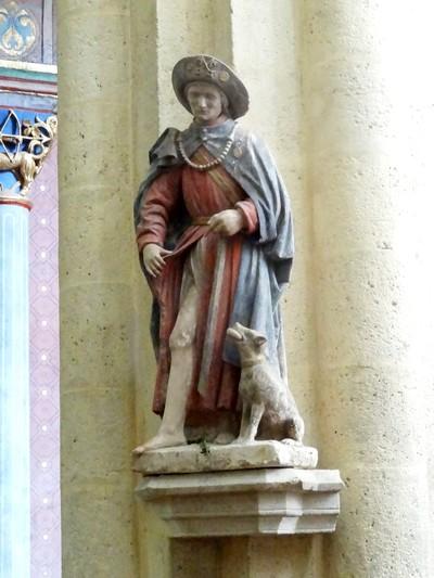 La basilique Saint-Andoche à Saulieu