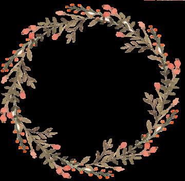 Tubes : Couronnes fleurs