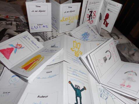 Comment faire faire de la production d'écrits ludique: les mini livres!