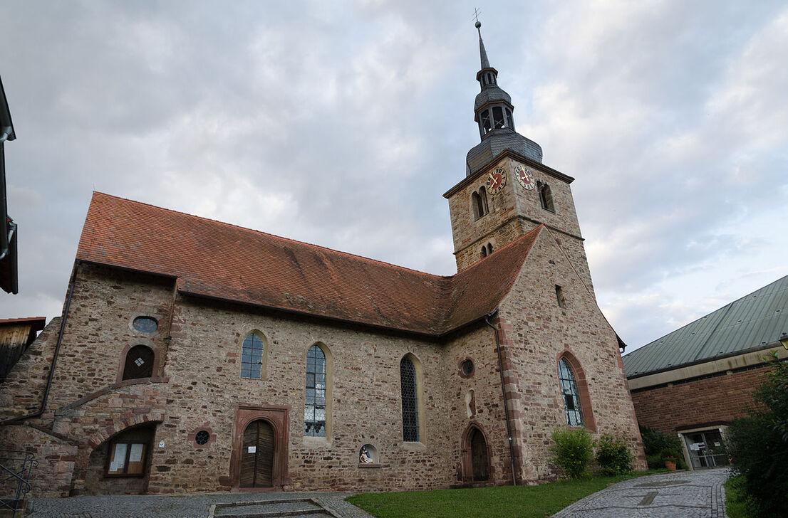 Hammelburg, Diebach, Katholische Pfarrkirche St. Georg-001.jpg