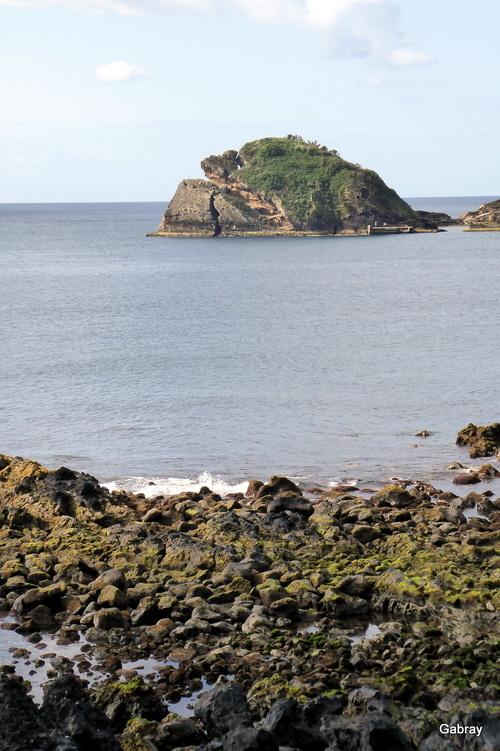 Açores: village en bord de mer