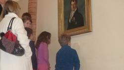 La classe de CE1 au Musée Ingres