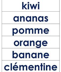 L'ordre alphabétique CP (Vocabulaire)
