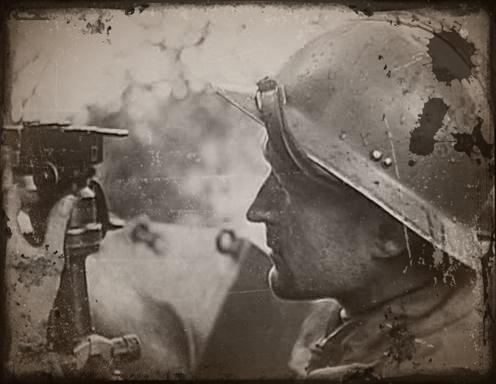 soldats français pendant la bataille de France de 1940
