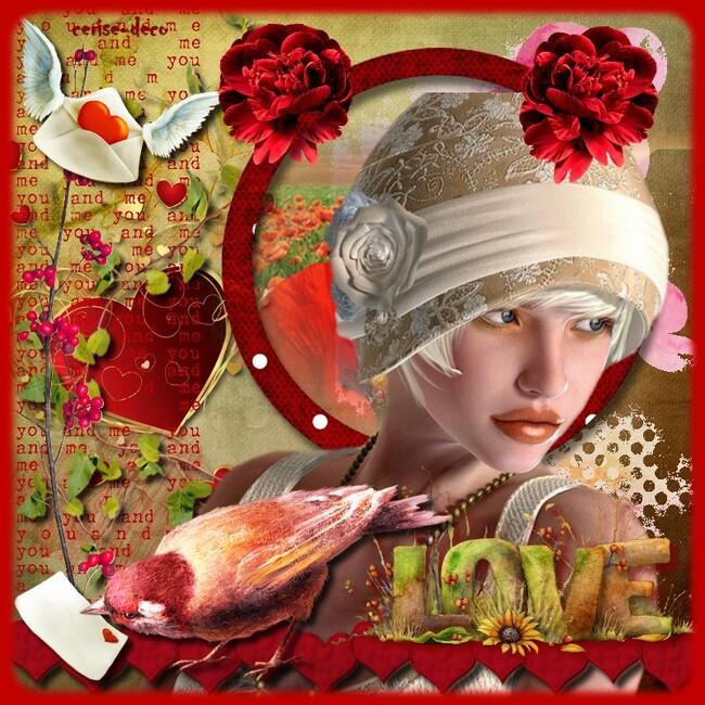 cluster gratuit saint valentin