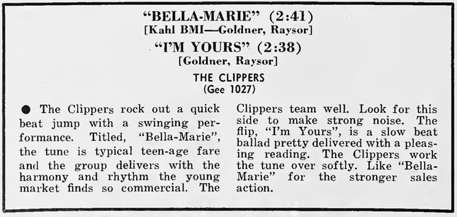 Johnny Blake & The Clippers (2)