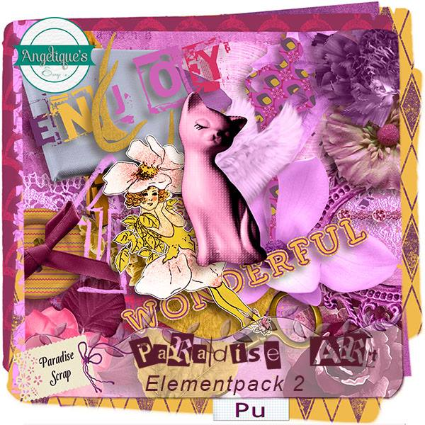 Paradise's Art de Angelique's scrap