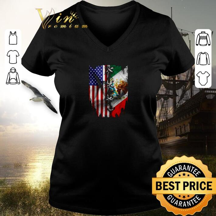 Funny 4th Of July independence day Mexico United States shirt