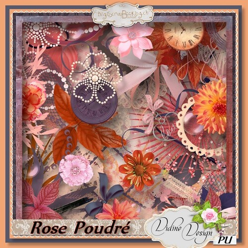"""Rose Poudré"" by Didine Design"