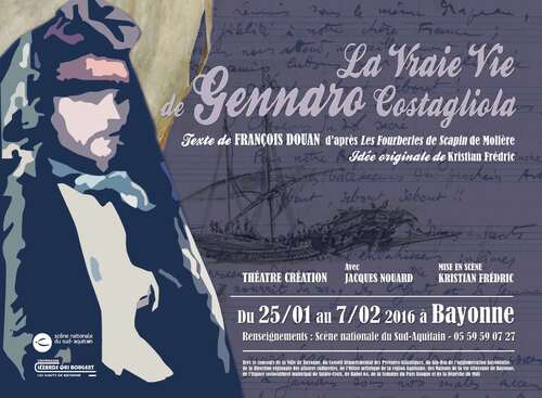 Affiche spectacle / Bayonne