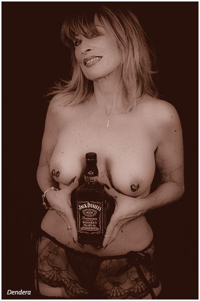 Dendera à la bouteille