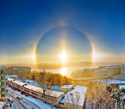 Halo de soleil (exceptionnel)
