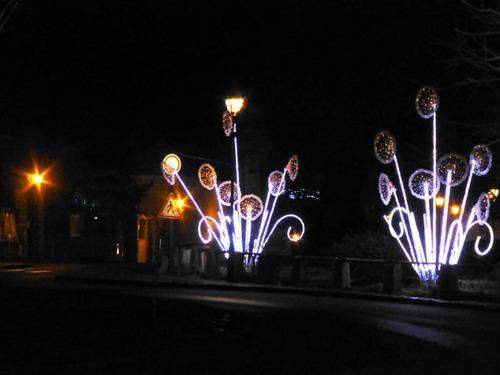 Le Saut-de-loup illuminé à Jouars-Pontchartrain