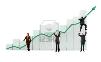 2602054-group-of-business-people-with-a-chart-representing-growth-and-success--isolated-over-a-white