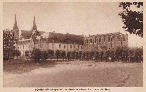 Pontmain : L'école des sœurs