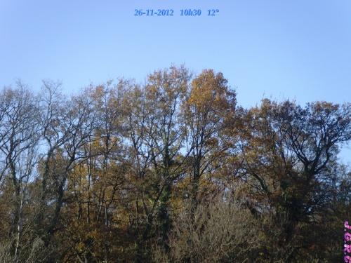 TEMPS DU JOUR  26/11/2012