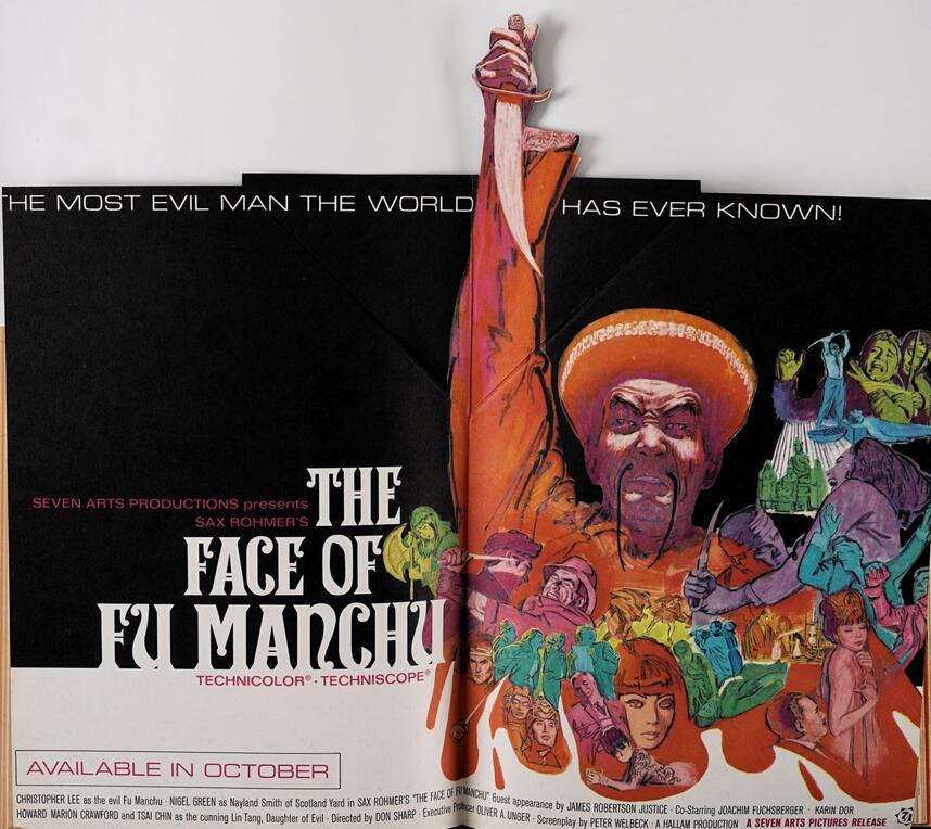 THE FACE OF FU MANCHU BOX OFFICE USA 1965