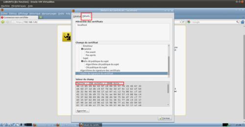 Sécuriser Apache2 avec SSL