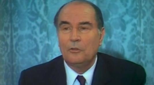 François Mitterrand donne raison à Robert Ménard