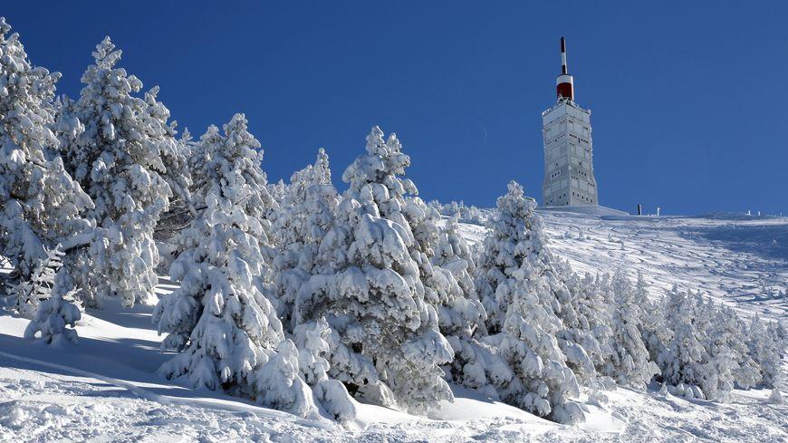 De la neige annoncée sur le Mont Ventoux