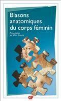 Blasons anatomiques du corps féminin