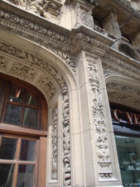 Ancien Bureau des Finances (détail)