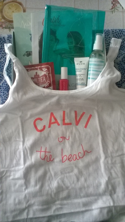 My little Calvi on the rocks box