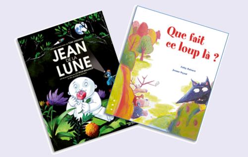 Albums de lecture pour parler des différences.