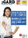 9.03.17 Méjannes-les-Alès : Forum des métiers et de l'emploi