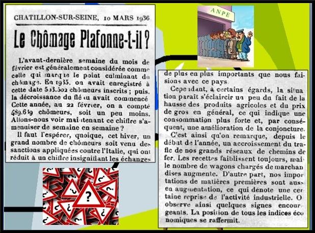 """Le Front Populaire vu par le Journal """"Le Châtillonnais et l'Auxois"""" de 1936 (partie 1)"""