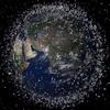 Débris des satellites autour de la Terre