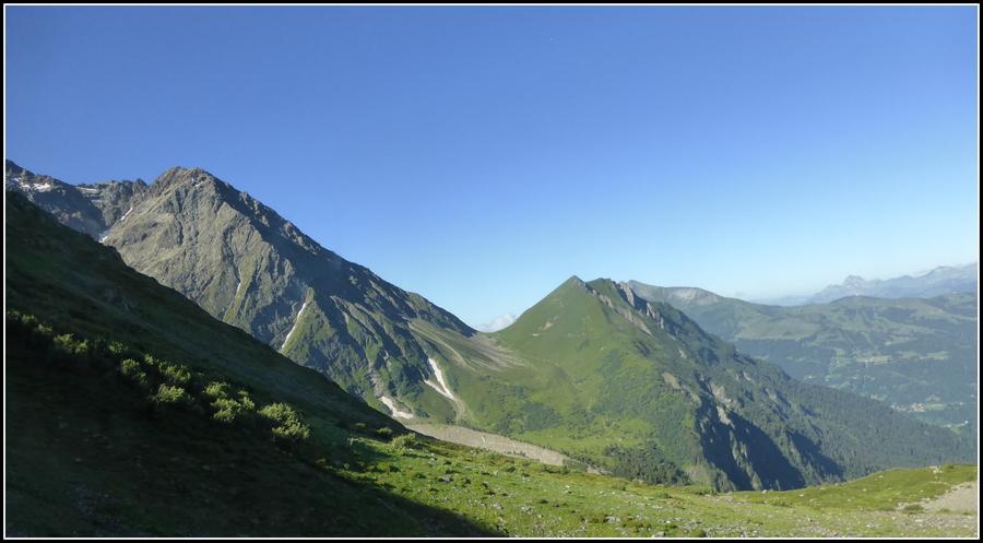 Sortie montagne au * Nid d'Aigle * à Saint-Gervais.