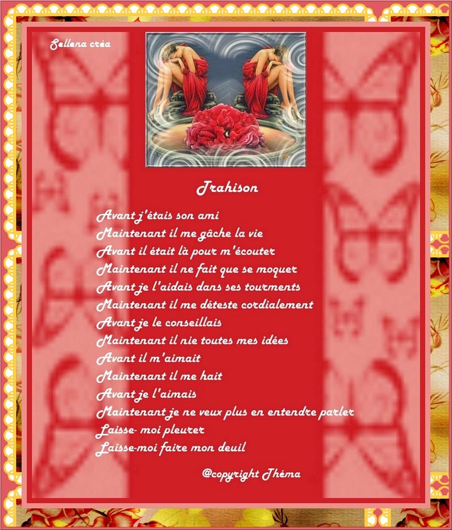 236 - Trahison (poème de Théma)