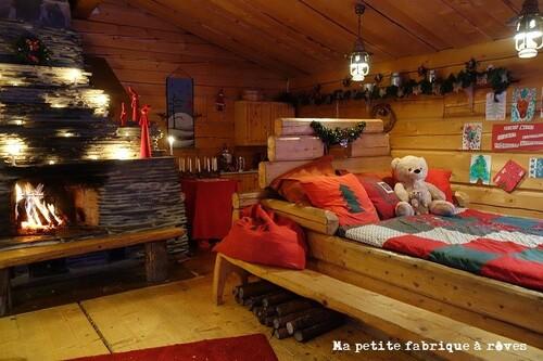 Laponie maison Père Noël