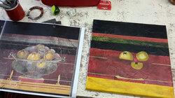 Cours de peinture suite