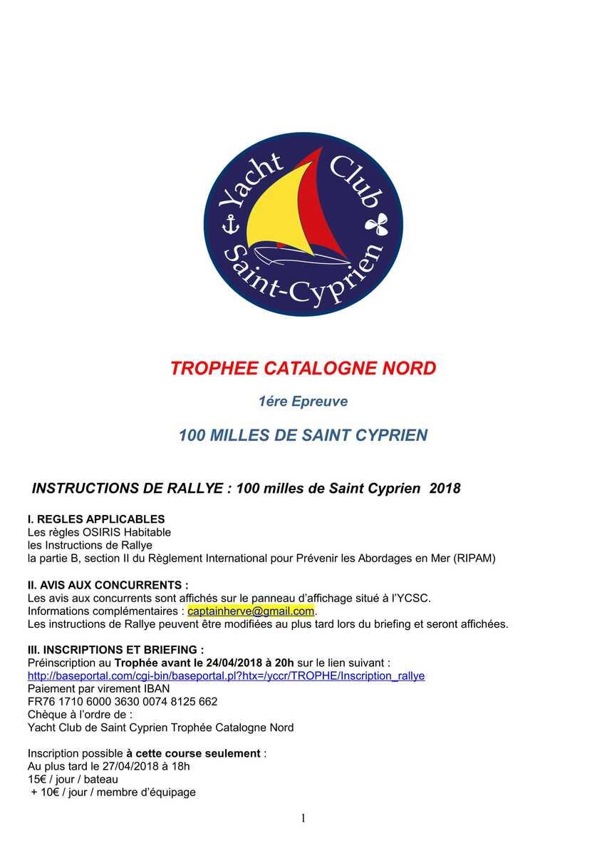 Rallye Catalogne Nord