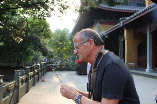 À Hangzhou (Anhui), la pagode Longyin