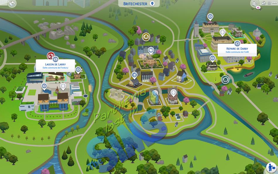 Sims 4 A la fac : Britechester