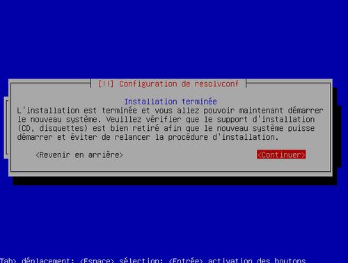 Installation d'un serveur avec OpenMediaVault