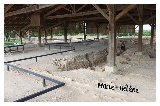 Visite archéologique