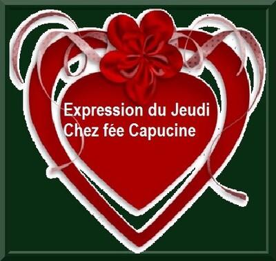 Expression Jeudi chez Fée capucine