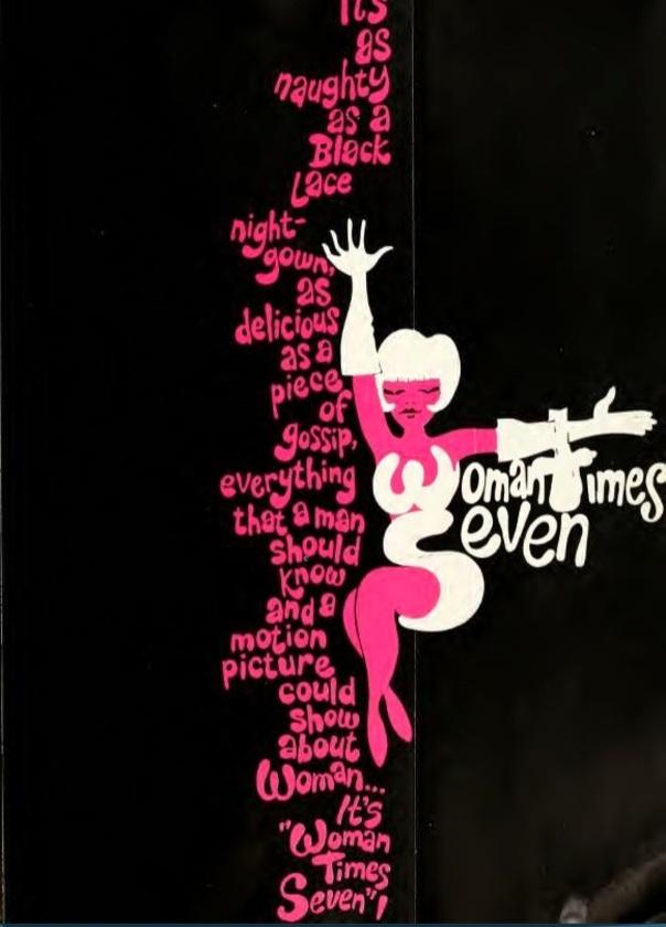 WOMAN TIMES SEVEN box office USA 1967