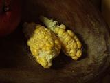 maïs 2,dans corbeille
