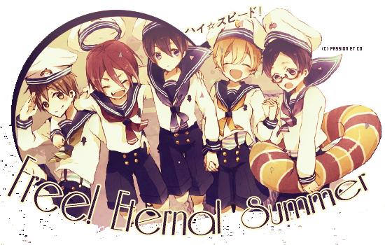 ♔ Free! Eternal Summer  ♔