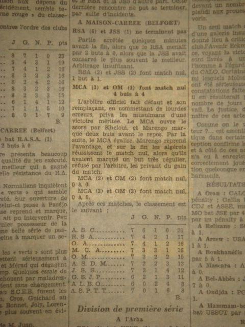 MCA-Marengo 1929/1930