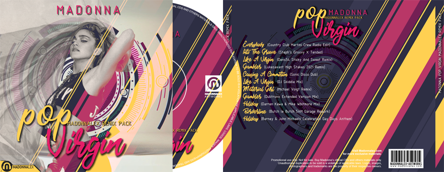 Madonna Pop Virgin Remix Pack