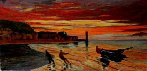 Peinture de Honfleur
